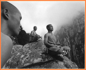 сила духа, шаолиньские монахи